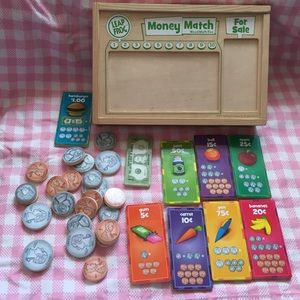 Leap Frog Money Match educational play set